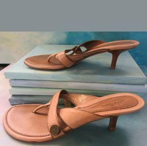 Cole haan kitten heels thong sandals